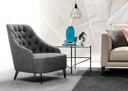 EMILIA CAPITONNÉ沙发椅
