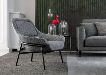 HANNA钢结构沙发椅