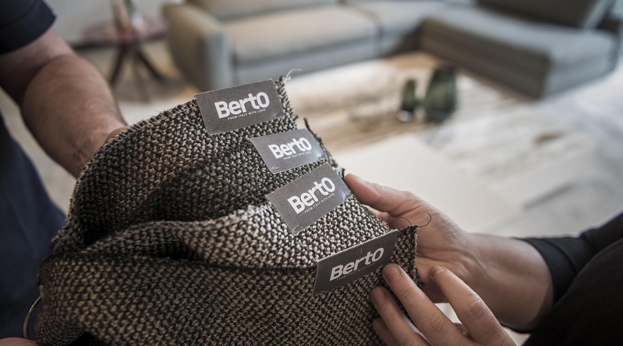 Berto Salotti梅达展纺织品系列