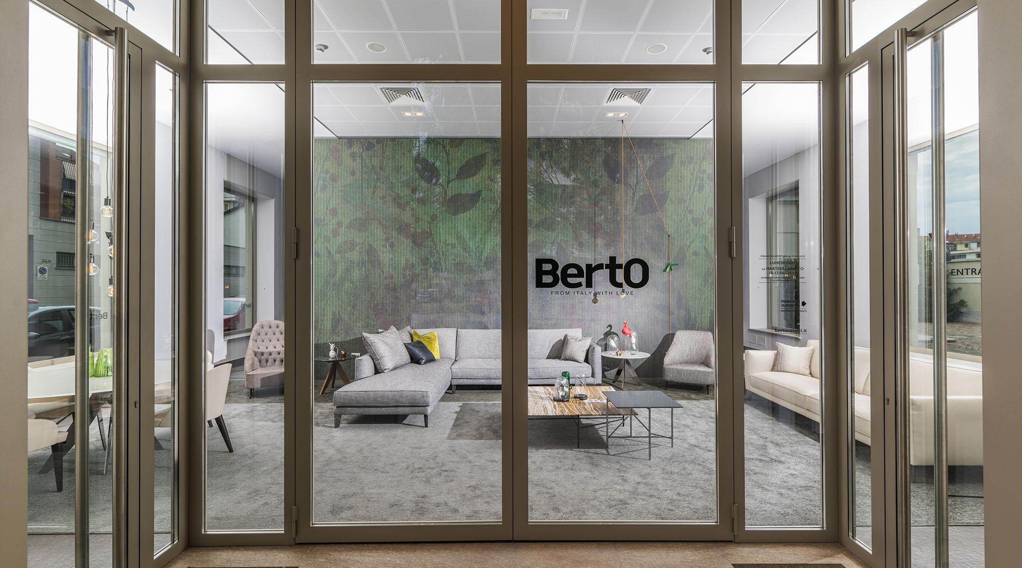 Berto Salotti都灵展厅门口